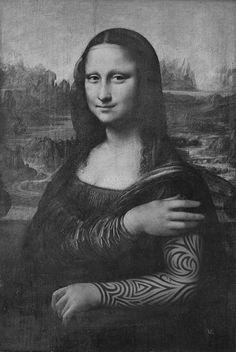 Tattooed Mona Lisa