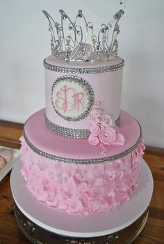 Quinceanera Cakes With Quinceneara On Top