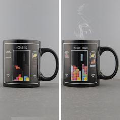 Marca New Tetris jogo padrão magia sensível ao calor caneca da mudança da cor reativa café presente presente Hot em Canecas de Casa & jardim no AliExpress.com | Alibaba Group