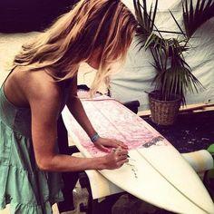 Board art...