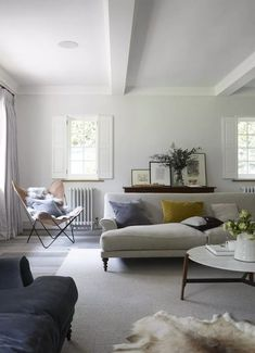 Gray living room ideas - how to get this shade right | Livingetc Scandi Living Room, Living Room Grey, Living Room Modern, Living Room Furniture, Living Room Designs, Home Furniture, Living Room Decor, Office Furniture, Cheap Furniture