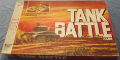 MILTON BRADLEY: 1975 Tank Battle Game #Vintage #Games