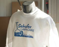 Long Sleeves made for Schafer Lawncare