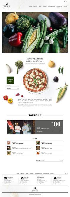 gorm's oniguili art direction, branding & web design – 神戸・長崎 Website Design Inspiration, Web Design Blog, Food Web Design, Simple Web Design, Web Banner Design, Menu Design, Layout Design, Beautiful Web Design, 2020 Design
