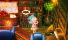 Weltkarte als Wanddeko in Bibliothek