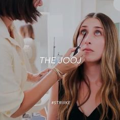 The eyes say it all. Come in for a full face makeup application or a jooj (a touch-up working with what you got) with Jenn Streicher at STRIIIKE.