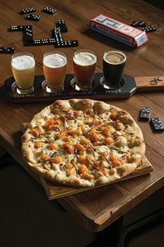 Susquehanna Style - Food and Drink - Pizza - Beer Sampling