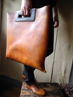 15 Best Briefcase Inga images | Vegetable tanned leather
