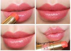YSL Rouge Volupte Shine 14# Corail in Touch