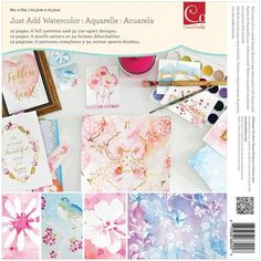 Just Add Watercolor Cards by Julia Stainton - the CLASSroom