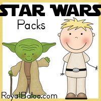 Star Wars Printable Packs