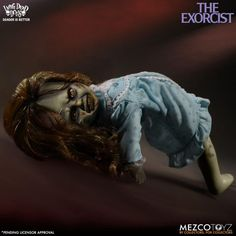 The Exorcist Living Dead Doll Hi there! Any fan of Living Dead Dolls here? A few months ago Mezco Toyz announced than an Ex. Heavy Metal, The Exorcist 1973, Terrifying Stories, Newest Horror Movies, Linda Blair, Living Dead Dolls, Punk, Wild Hair, Creepy Dolls