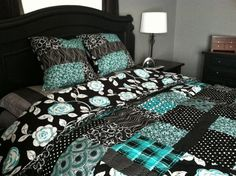 Julia's Duvet dual purpose quilt and duvet cover pattern