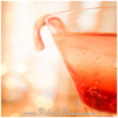 James' Candy Cane Mocktail Recipe - Violet LeBeaux - Free Cute Craft and Beauty Tutorials
