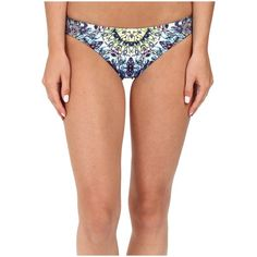 Red Carter Polaris Reversible Classic Hipster Bottoms (Navy Multi)... ($69) ❤ liked on Polyvore featuring swimwear, bikinis, bikini bottoms, navy bikini bottom, red carter, navy blue bikini bottom, hipster bikini bottom and hipster bikini