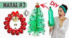 Christmas trees made out of recycled soda bottles Plastic Christmas Tree, Christmas Crafts For Kids, Holiday Crafts, Christmas Holidays, Christmas Ornaments, Holiday Decor, Christmas Trees, Paula Stephania, Plastic Bottle Crafts