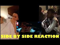 Daisy Ridley and John Boyega Reacts Side by Side to Official Trailer - YouTube