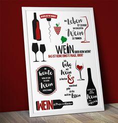 """Plotterdatei """"Sprüche Wein""""   kleine göhr.e design"""