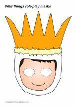 'Wild Thing' role-play masks (SB4141) - SparkleBox Preschool Curriculum, Preschool Art, Preschool Activities, Wild Ones, Wild Things, Story Retell, Party Activities, Retelling, Childrens Books