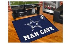 Groupon -  FanMats NFL - Dallas Cowboys Man Cave All-Star Mat 34x45. Groupon deal price: $49.99