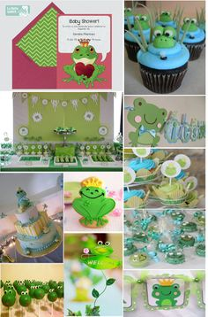 Frog prince baby shower