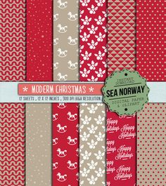 Digital paper christmas Digital paper christmas paper by seanorway