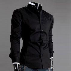 Casual Slim Fit Long Sleeve Shirt