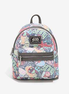 Loungefly Star Wars Graffiti Print Mini Backpack f6cbcd0bfb59f