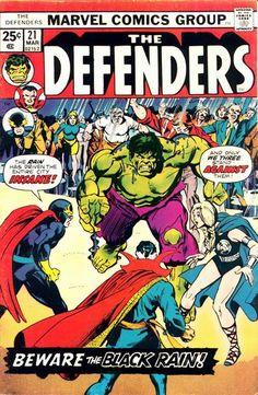 Defenders # 21 by Gil Kane & Klaus Janson