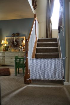 Homemade Baby Gate {A Tutorial}