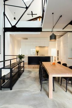 A STUNNING CONVERTED WAREHOUSE IN MELBOURNE   THE STYLE FILES