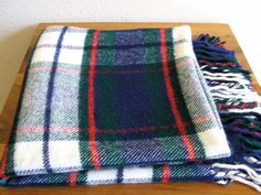 Plaid Blanket-Troy-USA by MarketHome on Etsy, $28.00