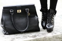 Check out the Tori in Black - a marc b. twist to a Doctors bag.