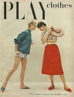 Play clothes 1954