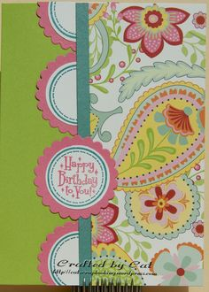 CTMH Chantilly Happy Birthday 4