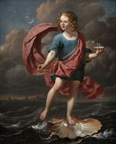 Karel Dujardin - Boy Blowing Soap Bubbles, Allegory on the Transitoriness and the Brevity of Life (por Gandalf's Gallery) Vanitas Paintings, Old Paintings, Renaissance Kunst, Renaissance Paintings, Aesthetic Painting, Aesthetic Art, Blowing Bubbles, Soap Bubbles, Collaborative Art