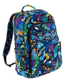 2ce57f8eb08a Laptop Backpack in Midnight Blues Vera Bradley Laptop Bag