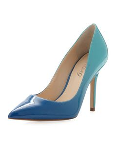 This Ocean color is so cute!! Orson Ombre Pump, Blue by Boutique 9 at Last Call by Neiman Marcus.