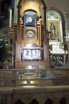 Tomb of Blessed Miguel Pro, Mexico
