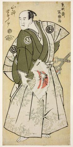 Toshusai Sharaku Japanese, active 1794-95, The Actor Yamashina Shirojuro as Nagoya Sanzaemon (Yamashina Shirojuro no Nagoya Sanzaemon)
