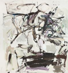 Joan Mitchell, 14 O'Clock, 1959, oil on canvas. ©ESTATE OF JOAN MITCHELL. PRIVATE COLLECTION, NEW YORK. IMAGE COURTESY OF BARBARA MATHES GALLERY, NEW YORK.
