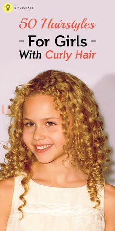 Hairstyles For Girls With Curly Hair: Are you blessed with naturally curly hair? Do you find it boring to wear the same curly hairstyle every day? Well, you have reached the right page. We are going to talk about 50 amazing hairstyles for girls with curly hair here. Check out the list below: Popular Hairdos For Curly Hair