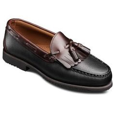 Nashua Tassel Loafers, 42250 Black with Brown Trim, blockout