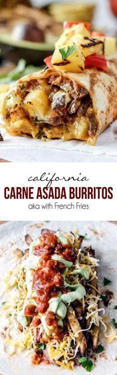 California Carne Asada Burrito