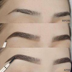 Best Eyebrow Makeup, Permanent Makeup Eyebrows, Best Eyebrow Products, Eye Makeup Tips, Eyebrow Pencil, Eyebrow Tips, Eyebrow Tinting, Makeup Ideas, Makeup Goals