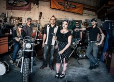 Shooting for Octopus King, Rockabilly Band Rockabilly Bands, Octopus, Old School, Punk, Bike, Style, Fashion, Bicycle, Swag