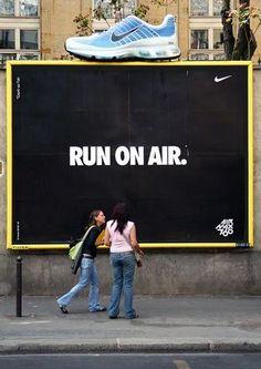 Run on air @nike @publicidad