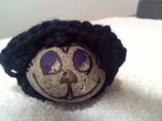 Crocheted Black and White Cozy Cat by Steve Ross by steveross4, $5.00