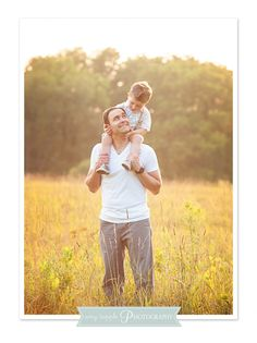 Father son pictures, sunset photo session  |  Amy Tripple