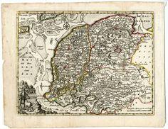Landkaart van Friesland
